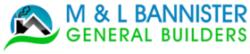 M & L Bannister – General builders in Northampton Logo